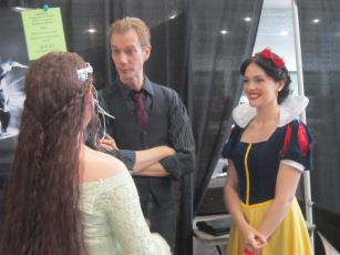 Doug Jones loves the ladies.